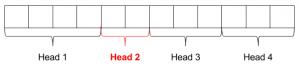 Пример плохого файла. Два сектора попал на вторую (проблемную) голову.