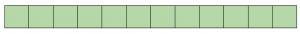 Пример однозначно хорошего файла. Все сектора прочитаны (зеленые).