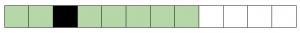 Пример однозначно плохого файла. Файл содержит один BAD сектор (черный).
