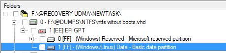 NTFS без бутов не открывается штатным образом